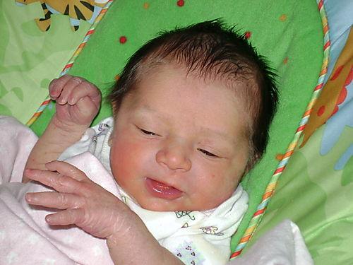 Sofia birth 3