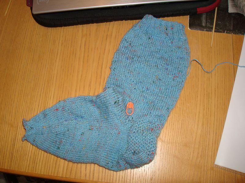 My fugly sock 1