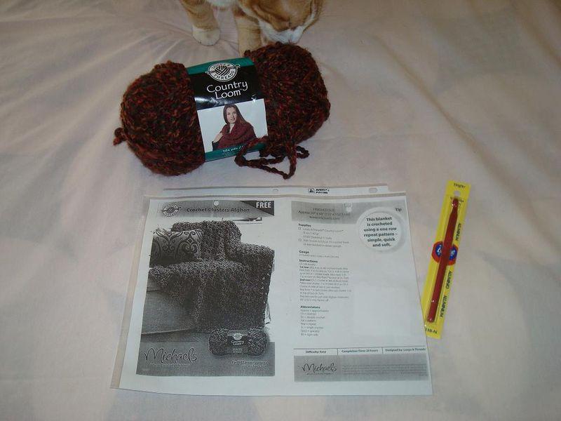 My first crochet blanket stuff