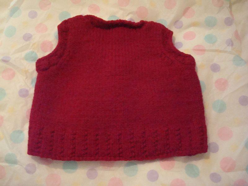 Sofia vest back